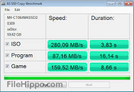 Hard Drive Bench Mark Download As Ssd Benchmark 2 0 6485 Filehippo Com