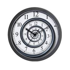 spiral wall clock for your special room wall clocks