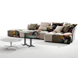 canapes modulables tissus canapé italien design idées pour le salon par les top marques
