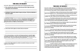 Bill Of Rights Worksheet Answers All Worksheets Bill Of Rights Worksheets Printable Worksheets