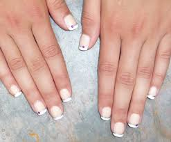 french tip nail designs with rhinestones images nail art designs