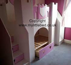 girls bunk bed with slide photo gallery of castle bunk bed uk viewing 6 of 20 photos