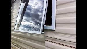static caravan double glazing windows and doors brean sands