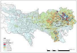 earthquake hazard map tokyo earthquake risk map japan property central