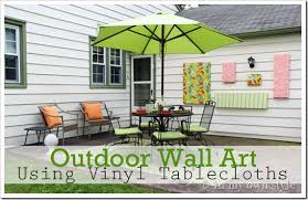 home outdoor decorating ideas how to make outdoor wall art in my own style