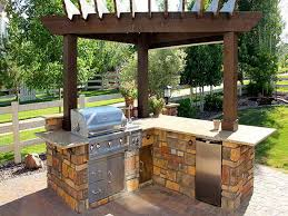 ideas for outdoor kitchens wonderful backyard grill patio ideas 20 modern outdoor kitchen and