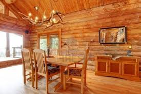 log cabin homes interior interior image of log cabin homes interior dining room