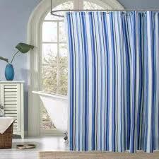 mason stripe fabric shower curtain ellis curtain curtainshop com