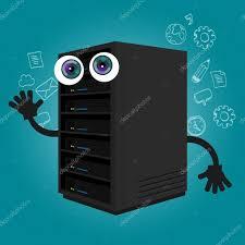computer server room stock vectors royalty free computer server