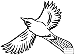 coloring pages kids birds jay bird coloring7