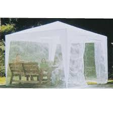 tonnelle de jardin avec moustiquaire tente tonnelle ou stand pliable sur structure métal avec toile