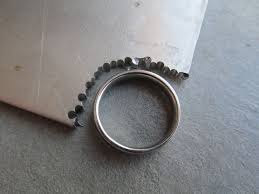 How To Make Inlay Jewelry - make a titanium ring 7 steps with pictures