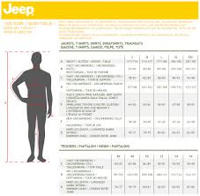 jeep outfitter size guide sportpursuit com