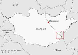 Mongolia Map The Cartographic Evolution Of The Sino Mongolian Border At Zamyn