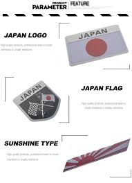 Flag Carrier Of Japan 2018 Japanese Flag Car Stickers And Decals 3d Stickers Logo Car
