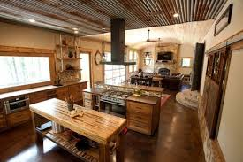 oak kitchen island with seating stunning rustic wood kitchen island home design ideas s remodel