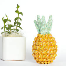 Pineapple Home Decor Crochet Pineapple Decor Pineapple Home Decor Pineapple