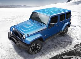 jeep sahara 2016 blue jeep wrangler polar edition arrives just in time for winter