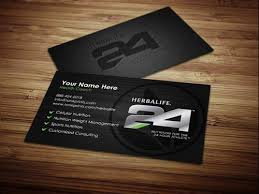 Eye Catching Business Cards Herbalife 24 Design 5 Custom