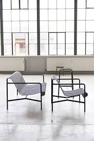 Design Outdoor Furniture by Bouroullecs Design Palissade Striped Outdoor Furniture For Hay