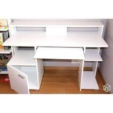 bureau informatique blanc laqué bureau ordinateur blanc laquac bureau design blanc bureau