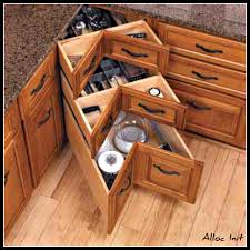 how to build a corner cabinet with lazy susan best home
