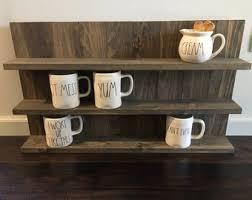 under cabinet coffee mug rack coffee mug rack rustic wooden shelf large bathroom wall