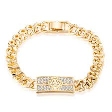 bracelet gold style images Top quality men jewelry bracelet gold color vintage classical jpg