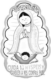 virgen guadalupe coloring pages coloring pages