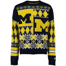 michigan wolverines ugly sweaters michigan ugly christmas sweater