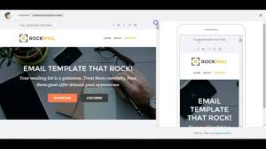 Best Responsive Email Template by Custom Mailchimp Responsive Email Template Rockmail Youtube