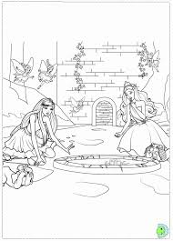 barbie princess popstar coloring pages printable