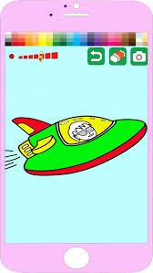 jeu pour enfants coloriage spacecraft edition iappstop
