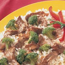 Main Dish Vegetables - stir fried beef and broccoli mccormick