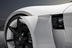 tesla supercar concept porsche u0027s electric mission e is poised to whoop tesla u0027s model s