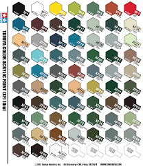 full set of 66 xf tamiya colours