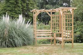 winchester pergola corner seat hayes garden world