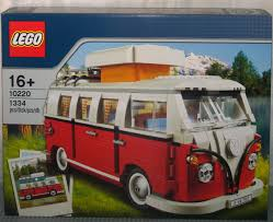 lego volkswagen mini 10220 lego volkswagen t1 camper van brick lady