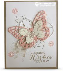 card sending wishes your way butterflies stin up