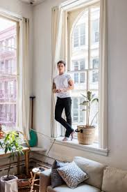 pieter jan mattan in his new york home in the book greenterior