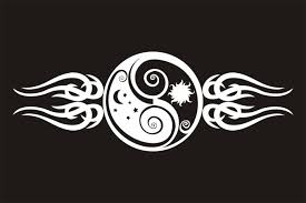 sun moon yin and yang yin yang sun moon tr st yin yang