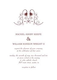 Catholic Wedding Invitation American Wedding Invitations American Wedding Invitations With