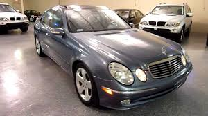 Mercedes Benz E 2003 2003 Mercedes Benz E500 4dr Sedan 5 0l Sport 2107 Sold Youtube