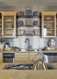 Steel Tile Backsplash by Stainless Steel Backsplash Behind The Stove And Smoke Glass Tile