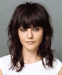 layered medium lenght hair with bangs medium length hairstyles with bangs medium length idea image popular