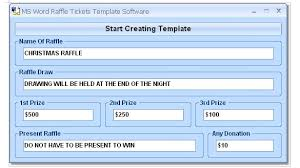 how to create tickets in microsoft word u2013 tutorial free