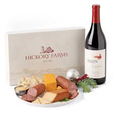 sending wine as a gift unique christmas wine gift ideas hickory farms