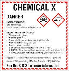 Ghs Safety Data Sheet Template Resource Oregon Health And Safety Newsletter