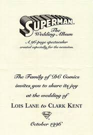 superman the wedding album comics superman the wedding album rrp edition