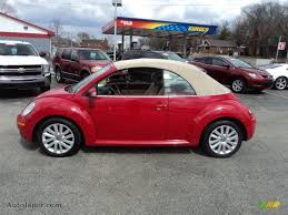 red volkswagen convertible 2008 volkswagen new beetle se convertible in salsa red 402203